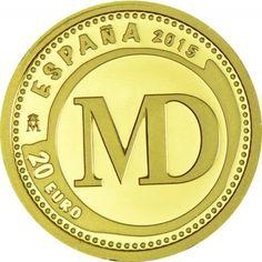 20 Euro Gold Juwelen der Numismatik VI - Madrid Mint PP