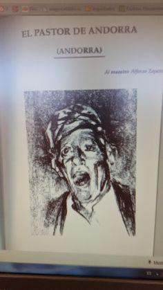 """""""El Pastor de Andorra"""" por Alfonso Zapater"""