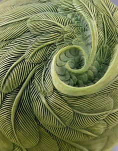 Sage Green - Color & Cottage Charm - Feather Spiral