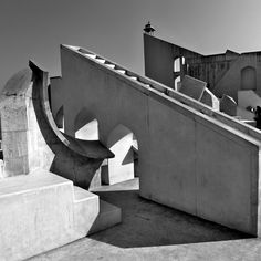 Early 18th century astronomical instruments at the Jantar Mantar Observatory - UNESCO World Heritage Attraction in Jaipur, India (Jan, 2013) - Photo taken by BradJill