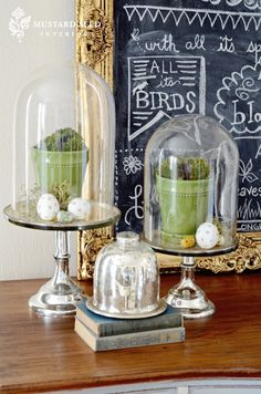 Miss Mustard Seed Spring/Easter decor