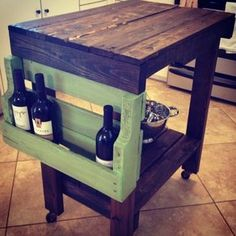 Pallet Wine Island by Bryant and Melba Boykin