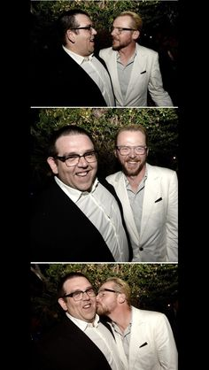 The Nick Frost-Simon Pegg Bromance