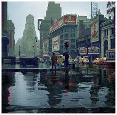 Times Square by John Vachon - 1943 (1850×1825)