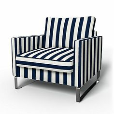 Cute slipcovers for IKEA chairs!
