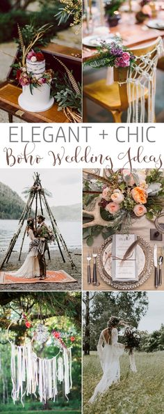 33 Effortlessly Chic Boho Wedding Ideas. #bohowedding #weddingideas