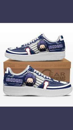 Air Force Shoes, Anime Merchandise, Japanese Outfits, Painted Shoes, Custom Shoes, Anime Guys, Casual Shoes, Fashion Shoes, Sneakers