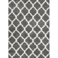 "nuLOOM Zeiler Gray Area Rug   AllModern $128.99 (5'3"" x 7'6"")"