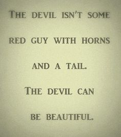 Why do people think that satan is ugly?