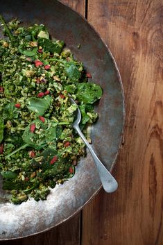 Superfood Green Tabouli : The Healthy Chef – Teresa Cutter