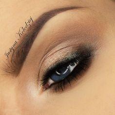 Today makeup  I used Eyeshadows @makeupgeekcosmetics In the spotlight (folied) Corrupt Barcelona beach  Brow @anastasiabeverlyhills Propalette  Primer @revitalashq8  Brush @zoevacosmetics  #featured #look#makeupgeek #mug#smoky#eyes#folied #Newmakeup #fiercesociety #brow#AnastasiaBeverlyHills #makeupartistsworldwide #zoeva#beautyaddict #auroramakeup #makeupmess #instaeyes #inspiracion #preenme #universodamaquiagemoficial #Polishblog #makeupartist #mua#ilovemakeup #instamakeupartist #v...