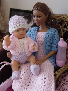 my Barbie wanted a baby ...