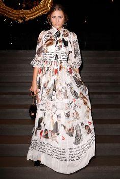 Amber Le Bon - Dolce & Gabbana Show - September 24 2017