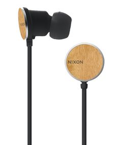 Nixon Wire 8mm Earbuds: I've always liked the look of Nixon earbuds and I like them even more in wood.