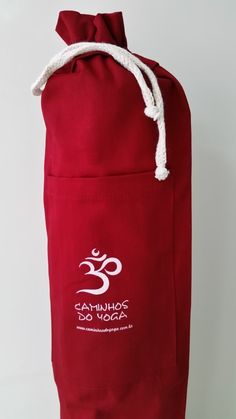 Bolsa Yoga Mat (vermelha)
