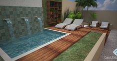 Piscina Diy, Villa Rica, Plunge Pool, Garden Show, Outdoor Living, Outdoor Decor, My House, Beautiful Places, Backyard