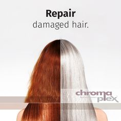 Repair damaged hair & wear whatever hair colour you want with the revolutionary Chromaplex, now in South African salons. Hair Colour, Color, Damaged Hair Repair, Hair Transformation, Salons, African, Long Hair Styles, Beauty, Lounges