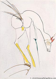 The Doe, Salvador Dali