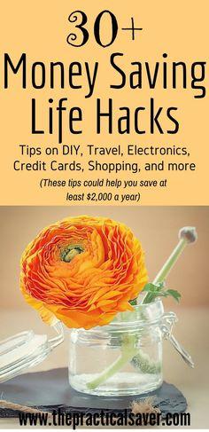 30+ money saving life hacks