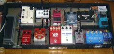 Pedal board of french guitarist Claude Engel - http://www.99pedalboards.com/project/claude-engel/