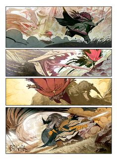 #BRIGADA #COMIC #ILLUSTRATION - Page Preview. BRIGADA by ENRIQUE FERNÁNDEZ. BRIGADE is an Enrique Fernández´s comic book project. A series of fantasy/epic/medieval stories. 46 pages, hardcover, 19X27cm. ( three language versions: spanish, english, french) Release date late summer 2013. warriors dwarfs PRE-ORDERS: http://brigadacomic.blogspot.com.es  verkami crowdfunding CAMPAIGN: www.verkami.com/projects/2598