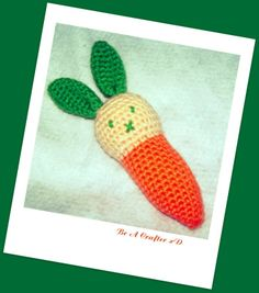 Carrot bunny « The Yarn Box