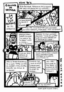 GAUNA: COMIC AUTO-BIOGRAFICO: LA GRAN 7 - TEMP.2 - CAP.06: LA TV y LOS NIÑOS