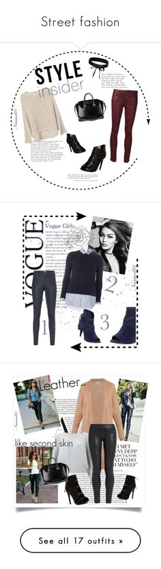 Street fashion by nannerl27forever on Polyvore featuring polyvore fashion style MANGO Joe's Jeans Boohoo Givenchy clothing M.i.h Jeans Dorothy Perkins Vince Camuto Acne Studios Miss Selfridge The Row WearAll NOVICA Frame Roxy Valentino DKNY Saint James Stuart Weitzman Furla Olsson Unreal Fur Chloé Gianvito Rossi Rotary Post-It Burberry Levi's Le Parmentier Tiffany & Co. Balmain Chico's rag & bone Agnona ONLY Horny Toad Brooklyn Hat Co. Charlotte Russe Michael Kors Chicwish Collectif Elena…