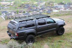 Aluminum Roof Racks for Toyota Overland Vehicles Toyota Tacoma 4x4, Toyota Tacoma Roof Rack, Tacoma Truck, Toyota Hilux, Toyota Tundra, 2018 Tacoma, Overland Truck, Expedition Truck, Nissan Navara