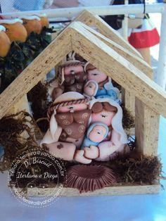 porcelana fria biscuit diego torres iterlano rocha presepio pesebre natal…