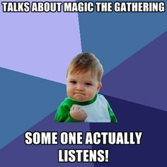 Magic the Gathering: finding a kindred geek