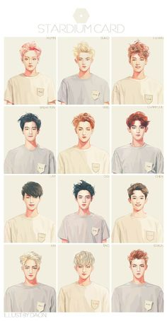 Find images and videos about kpop, exo and baekhyun on We Heart It - the app to get lost in what you love. Kpop Exo, Exo Bts, Chanyeol Baekhyun, Bts And Exo, Got7, Baekhyun Fanart, Chanbaek, Kaisoo, Kpop Anime