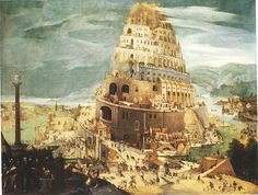 Abel Grimmer : The Tower of Babel (Private collection) アベル・グリマー Ancient Mesopotamia, Ancient Civilizations, World History, Art History, Turm Von Babylon, Pieter Brueghel El Viejo, Epic Of Gilgamesh, Tower Of Babel, Arte Tribal