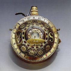 Gun Powder Flask, 1590, Beyer Watch and Clock Museum Collection