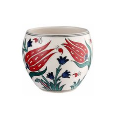 Small Vase with Tulips
