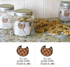 """Teacher Gift - """"I'm one smart cookie thanks to you"""" Free PDF Printable and Cookie Gift Idea"""