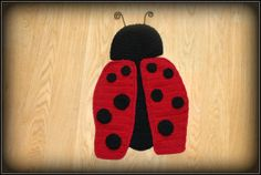 Baby crochet lady bug photo prop newborn by TheJellyBoutique, $30.00