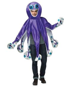 NEW ADULT OCTOPUS FUNNY UNDER THE SEA CREATURE ANIMAL FANCY DRESS COSTUME OUTFIT in Clothes, Shoes & Accessories, Fancy Dress & Period Costume, Fancy Dress | eBay