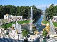 Peterhof Palas Russia - beautiful place!