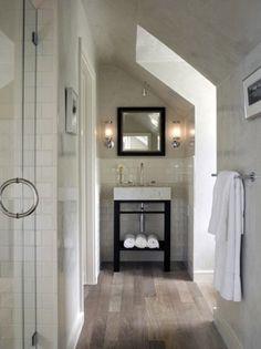 Interior design - modern bathroom