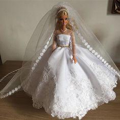 Uma linda noiva #noiva #barbie