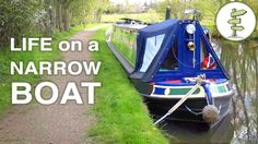 TV Journalist Quits His Job to Live on a Tiny House Boat & Cruise UK Can...