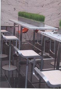#吧檯椅-大陸工程公司 B1員工咖啡廳