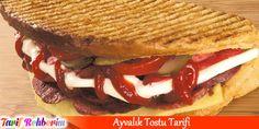 Ayvalık tostu tarifi #tost #yemek #tatil