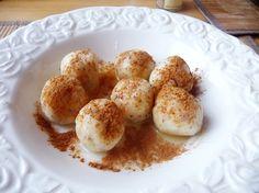jablecne knedlíčky - dělená strava Delena, Whole 30 Recipes, Muffin, Eggs, Lunch, Breakfast, Healthy, Sweet, Fitness