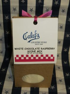 Calef's White Chocolate Raspberry Scone Mix