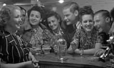 Cocktails were all the rage in 1939. Photograph: Hulton Archive/Kurt Hutton