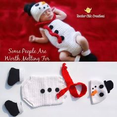 >> Click to Buy << 2016 cute Newborn Baby Clothing Set Cute Infant 0-6 Month Knitted Clothing Set snowman Costume Crochet Photo Props Photography #Affiliate