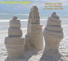 This is how we do #NationalDessertDay on #TheEmeraldCoast #SandCastleLessons