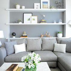 Shelf Over Sofa